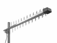 Antenne montate log-periodiche GSM-DCS-UMTS-WLAN
